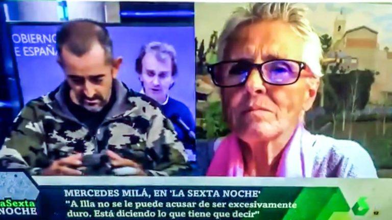 Mercedes Milá criticando al doctor Cavadas.
