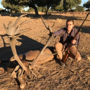 Caza un monstruoso ciervo de 24 puntas después de siete días tras su rastro