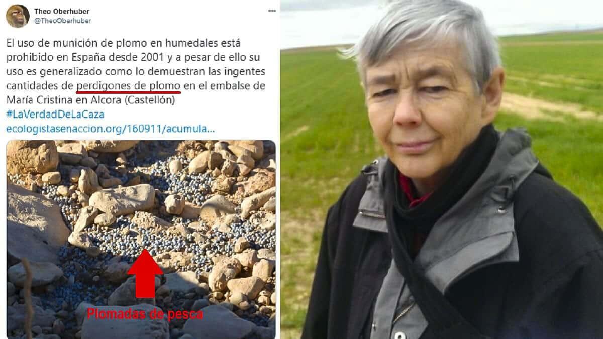 Colosal zasca de la FAC a Ecologistas en Acción por este tuit sobre el plomo en humedales