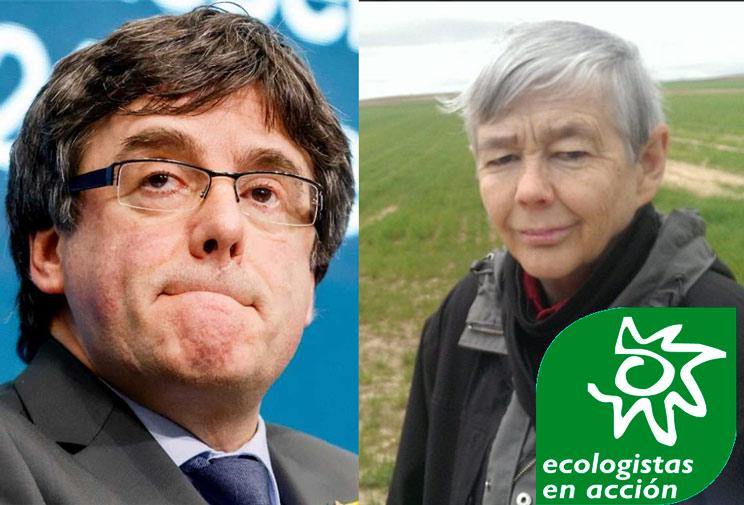 Ecologistas en Acción critica el encarcelamiento de los independentistas del 'procés'