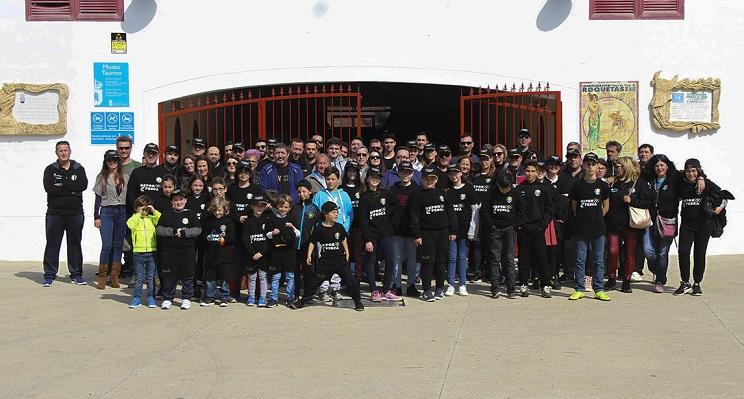 El Club El Buen Pescar presenta la temporada en la Plaza de Toros de Roquetas de Mar