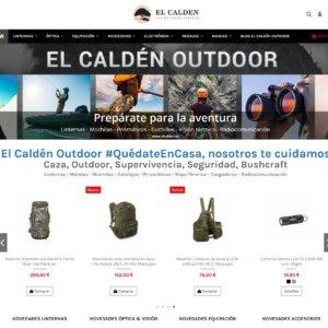 El Calden Outdoor actualiza su web e incorpora más de 2.000 artículos