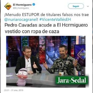 El Hormiguero carga contra Jara y Sedal por la noticia sobre el doctor Cavadas