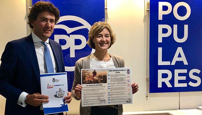 El PP ratifica a la RFEC su trabajo continuado a favor de la caza