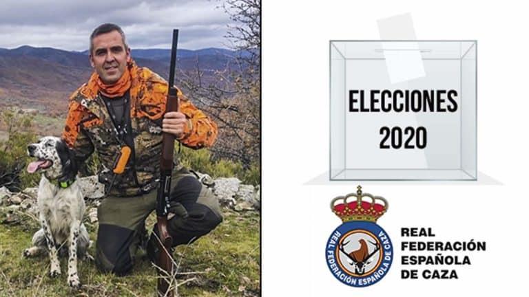 El candidato Miguel Ángel Alonso se presenta a las elecciones a la presidencia de la RFEC.