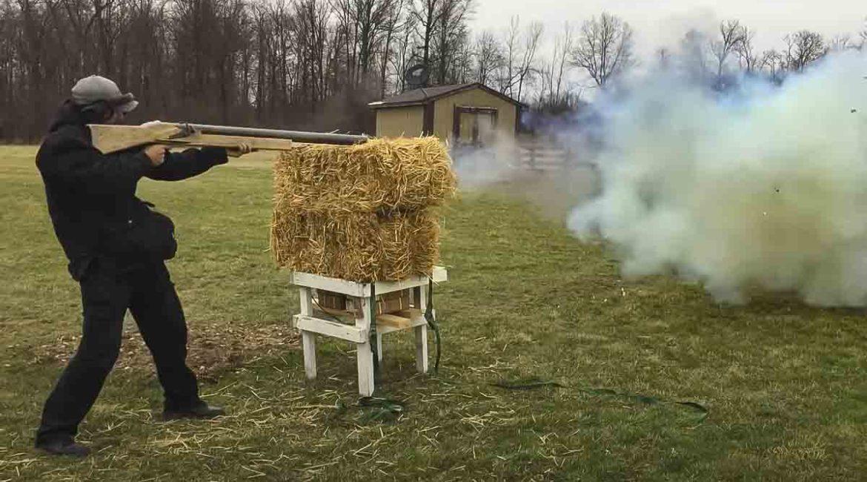 Fabrica una escopeta de calibre 1,5 ¡y dispara con ella!