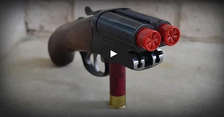 Así es la escopeta más pequeña del mundo