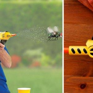 Esta escopeta para cazar moscas arrasa en la red