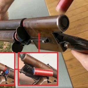 Esta es la escopeta de caza ¿semiautomática? más rara jamás inventada