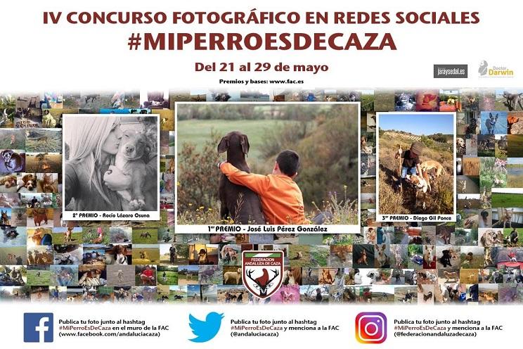 La FAC convoca el IV Concurso Fotográfico en Redes Sociales #MiPerroEsDeCaza