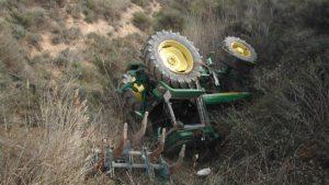 Muere un joven agricultor de 25 años tras sufrir un accidente con su tractor en Lérida