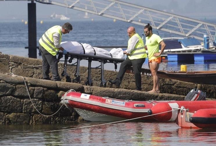 Muere un pescador tras golpearse contra una roca en Galicia