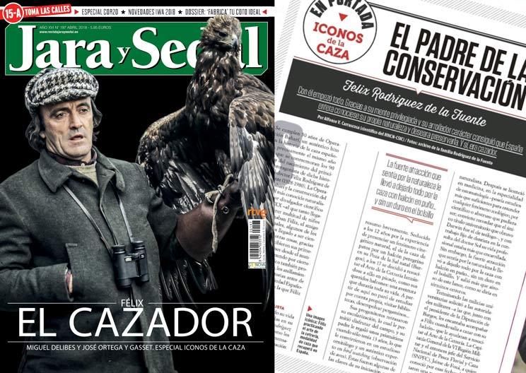 Félix Rodríguez de la Fuente era cazador, recuerda Jara y Sedal en una edición especial
