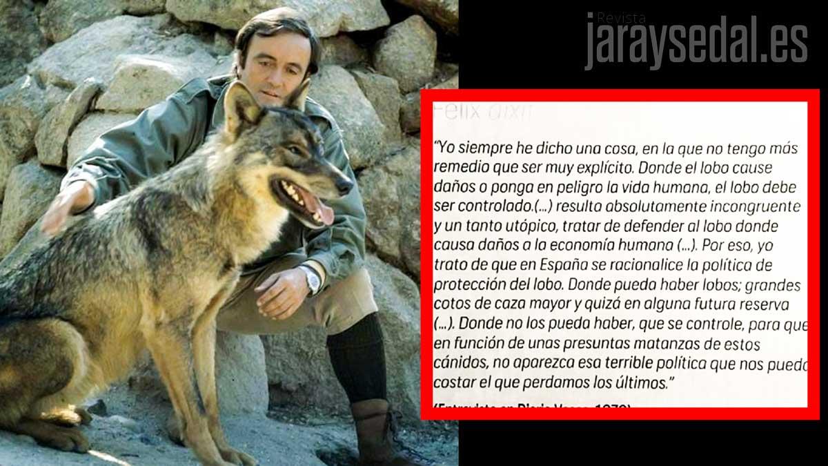 Por Qué Félix Rodríguez De La Fuente Hubiese Votado No A Prohibir La Caza Del Lobo
