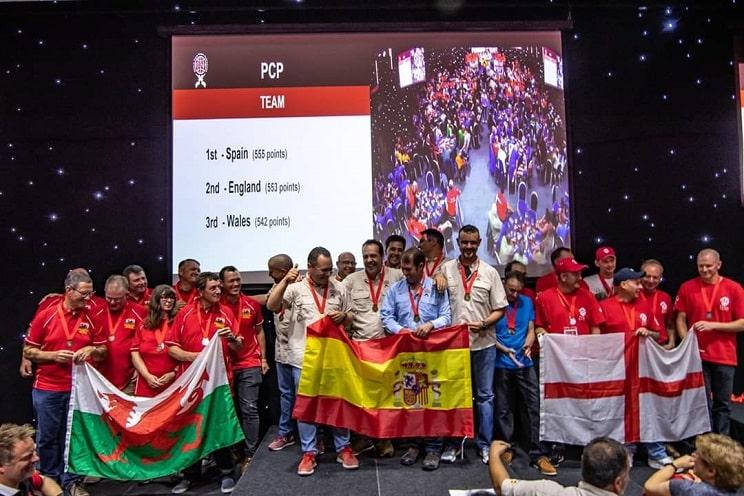 Los tiradores españoles ganan el mundial de Field Target