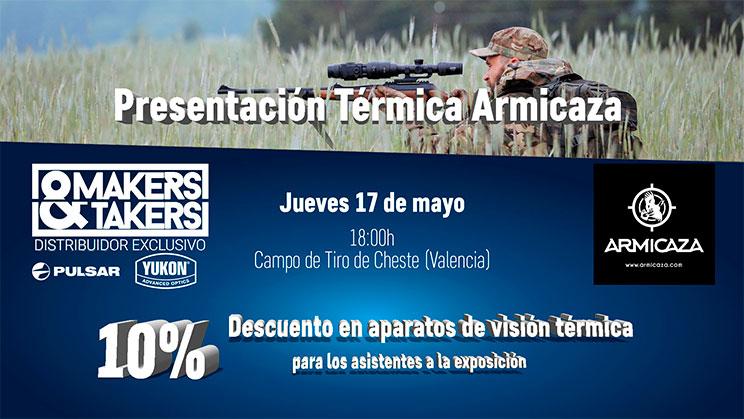 Makers&Takers: Presentación de visión térmica en Armicaza (Valencia)