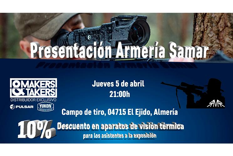 Makers&Takers continua con sus jornadas térmicas y nocturnas: Armería Samar (Almería)