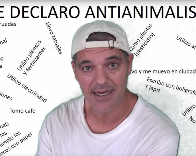 Frank Cuesta estalla y se declara «antianimalista» en un demoledor vídeo