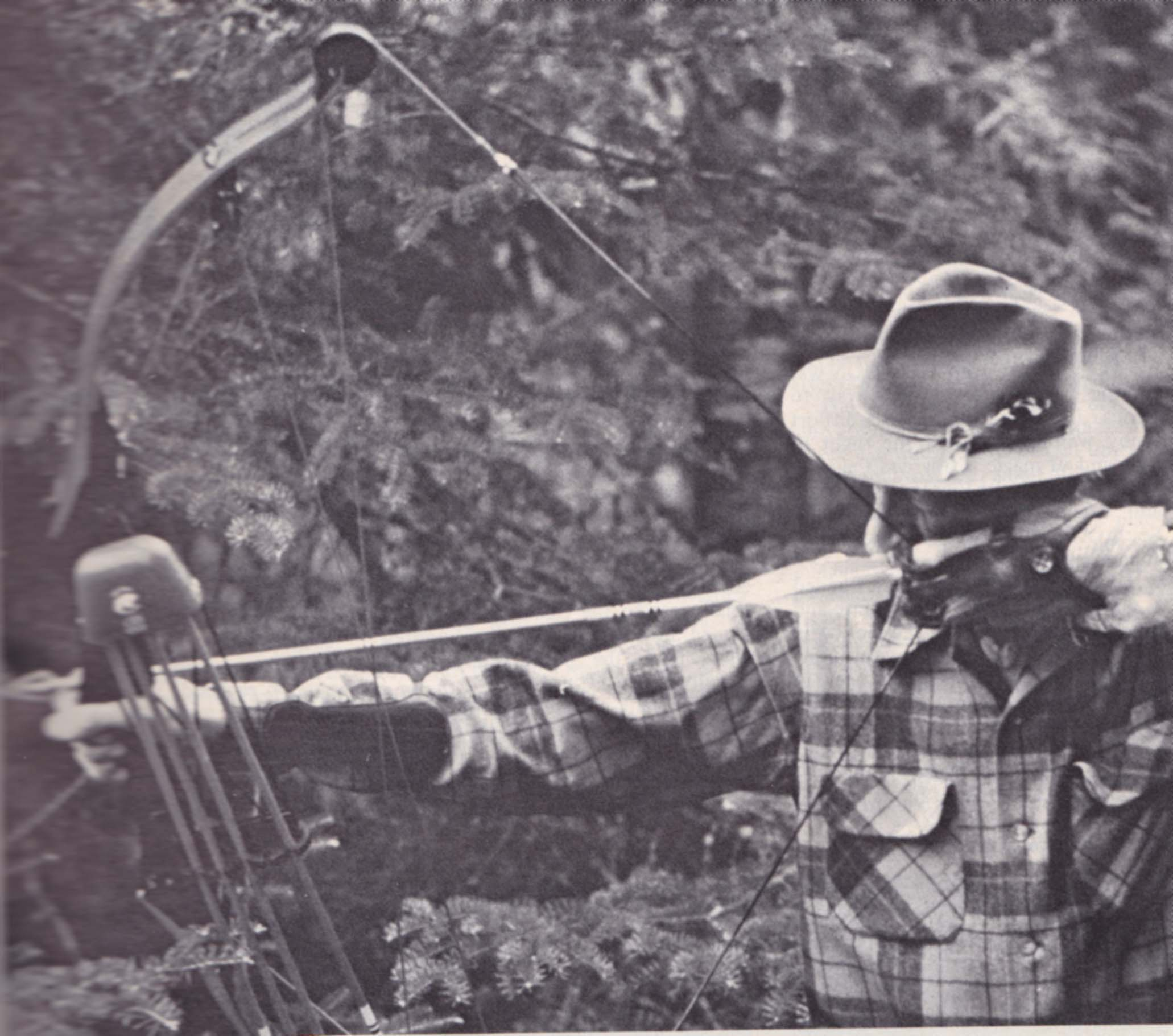 Fred Bear, el padre de la caza con arco