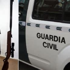Furtivean y esconden en este rebuscado sitio siete piezas, pero la Guardia Civil los pilla