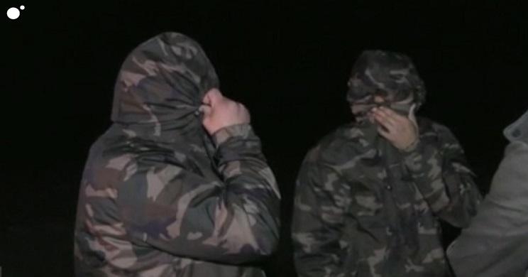 Furtivos interceptados durante la grabación del programa. / Cuatro