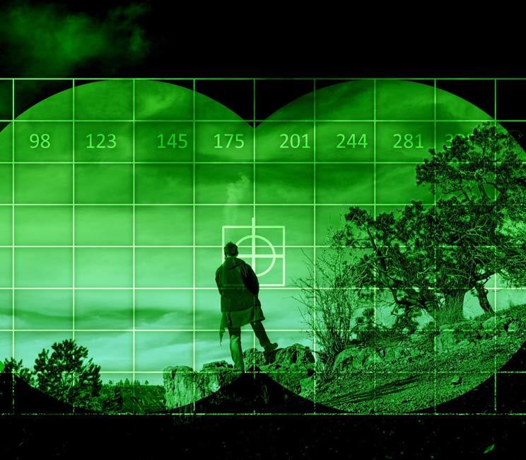 Astrofísica y drones con visión térmica para detectar a los furtivos