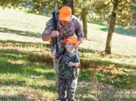 Los niños son el futuro de la caza