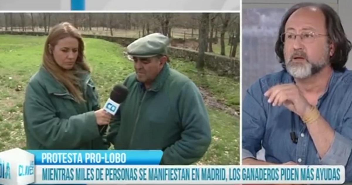 Un ganadero deja en evidencia a Lobo Marley en televisión