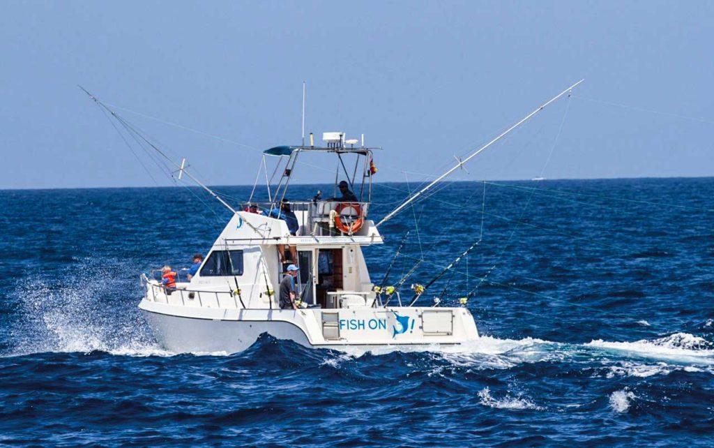 Fish On lleva ocho años haciendo realidad los sueños de los pescadores.