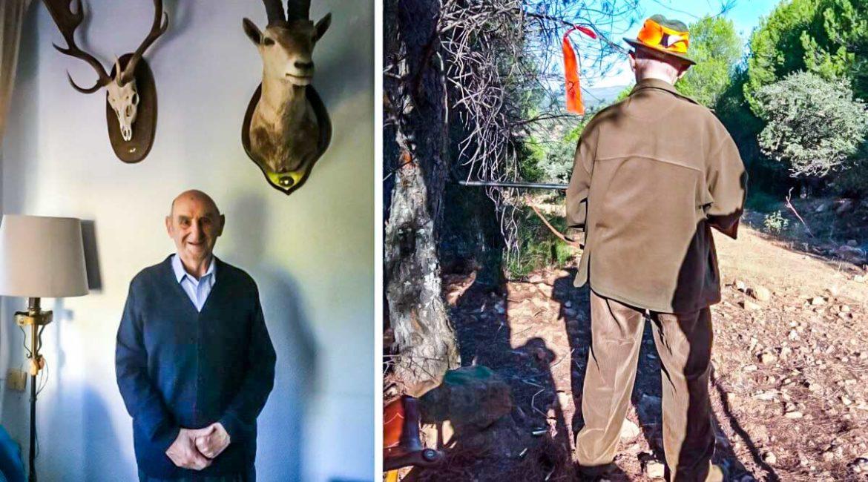 La increíble historia de Horacio, el cazador de 91 años sigue cobrando jabalíes con su vieja paralela