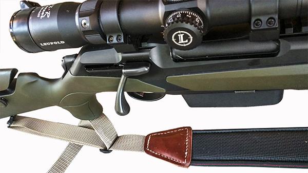 Rifle de cerrojo Merkel RX Helix Alpinist con gatillo TAR-GT y visor Leupold.