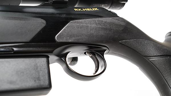 Gatillo TAR-GT montado en rifle de cerrojo Merkel RX Helix