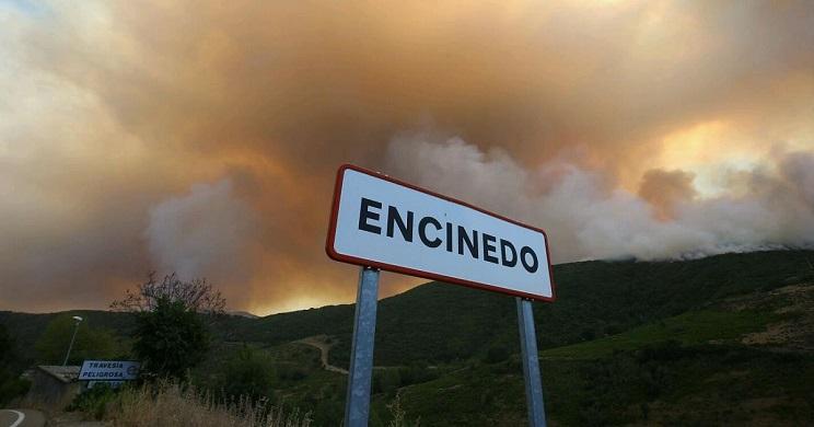 Un incendio arrasa miles de hectáreas en León y deja a varios pueblos sin caza ni pastos