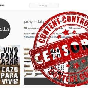 Instagram censura (por error) la cuenta oficial de la revista Jara y Sedal [Actualizada]