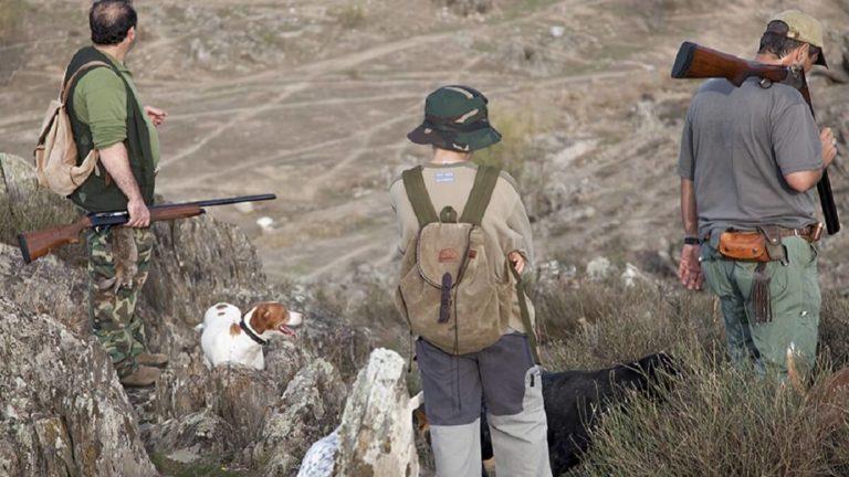jóvenes caza