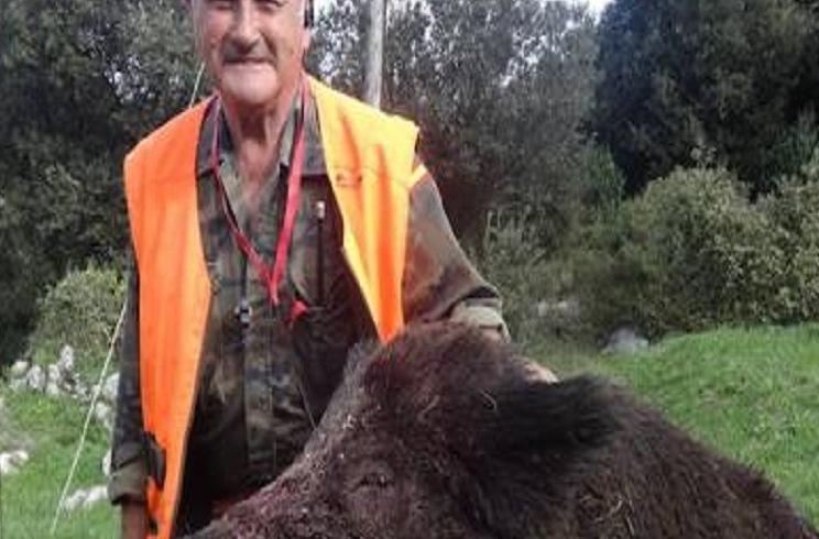 Cazan un espectacular jabalí de 185 kilos en Asturias