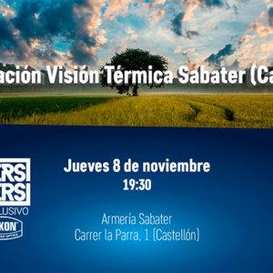 Presentación de visión térmica en Castellón junto a Makers&Takers