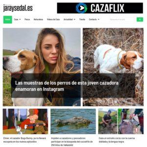 Jara y Sedal, la web de caza más visitada de España, se renueva completamente