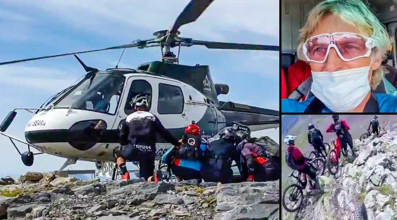 Jesús Calleja, criticado por no respetar una zona natural protegida: llegó en helicóptero y la cruzó en BTT