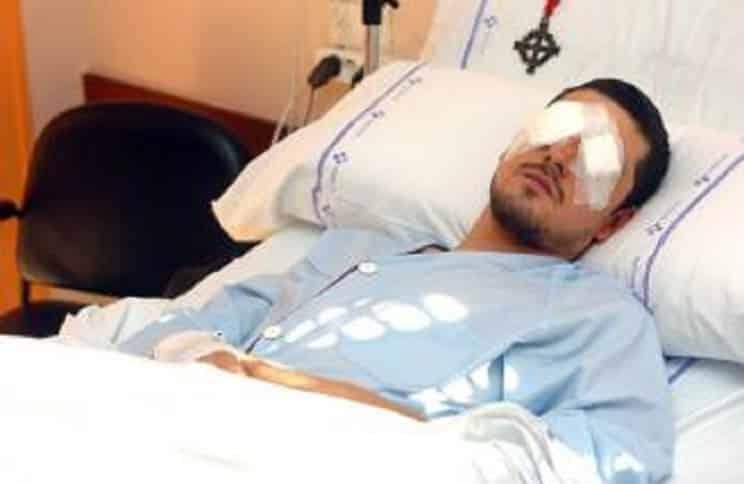 Se queda ciego al chocar contra unos jabalíes y años después le reclaman la indemnización