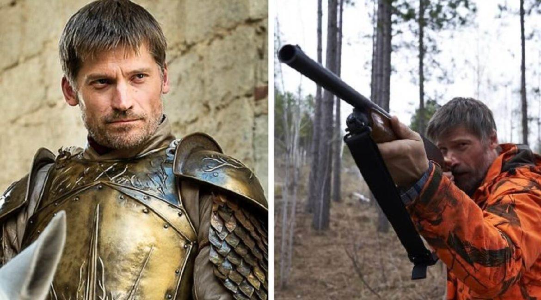 Nikolaj Coster-Waldau, Jaime Lannister en Juego de Tronos, reaparece como cazador