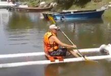 kayak de pvc