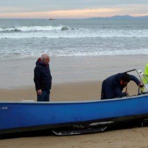 Rescatan el cadáver del pescador desaparecido en Laredo