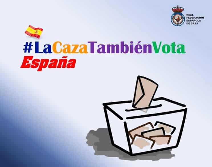 La RFEC lanza la campaña #LaCazaTambiénVota a nivel nacional
