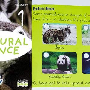 Un libro escolar de Anaya afirma que el lince está en extinción porque se caza