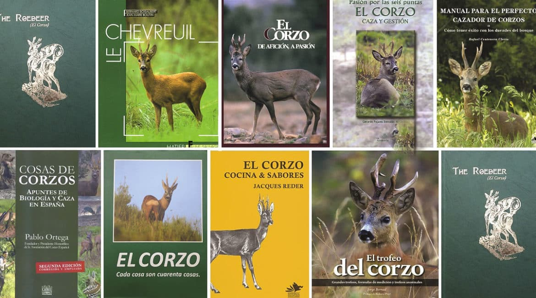 Nueve libros sobre el corzo que todo aficionado a su caza debería leer