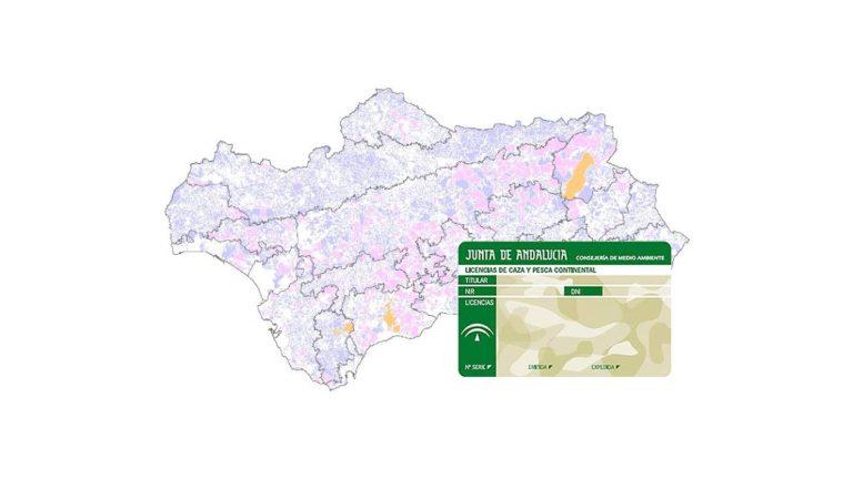 licencia de caza y pesca en andalucia por internet
