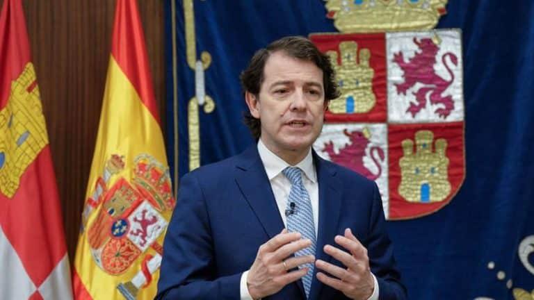 Alfonso Fernández Mañueco, presidente de la Junta de Castilla y León.