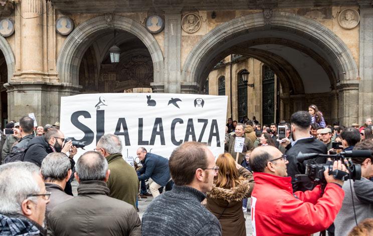 Éxito histórico del 15-A: España grita «¡Sí a la caza!»