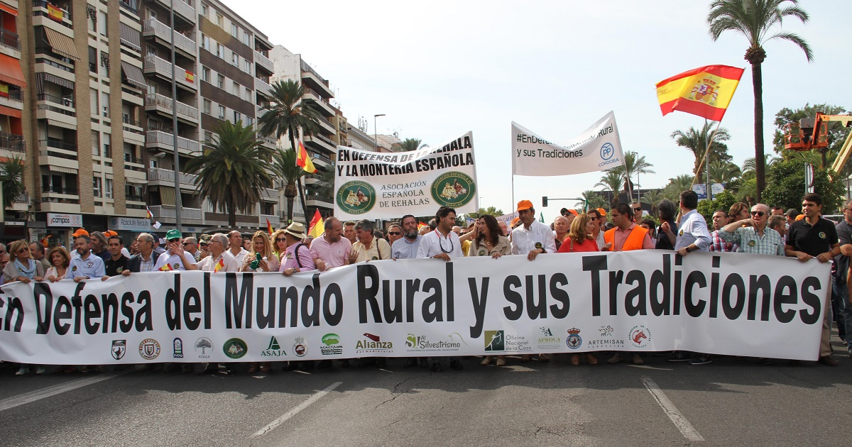 manifestacion defensa mundo rural